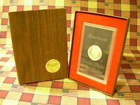 1972 S EISENHOWER 40 SILVER PROOF DOLLAR IN ORIGINAL US MINT BROWN IKE BOX NICE