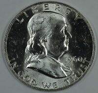 1960 P FRANKLIN UNCIRCULATED SILVER HALF DOLLAR BU SEE STORE FOR DISCOUNTSYE17