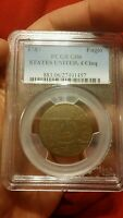 1787 FUGIO STATES UNITED 4 CINQ PCGS GOOD 06 CHECK OTHER AUCTIONS