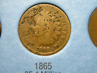 1865 INDIAN HEAD CENT                                                     16TH