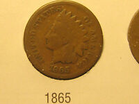 1865 INDIAN HEAD CENT                                                     47TH