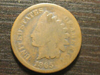 1865 INDIAN HEAD CENT                                                    21-G1