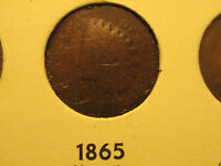 1865 INDIAN HEAD CENT                                                     29TH