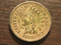 1865 INDIAN HEAD CENT                                                     59TH