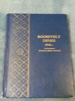 COMPLETE SET ROOSEVELT DIMES PDS1946 THRU 1980 IN WHITMAN ALBUM CIRCULATED TO BU
