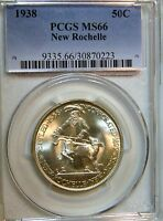 1938 NEW ROCHELLE NY PCGS MS66 BLAZING GEM PQ COMPARE BEFORE YOU BUY