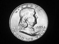 1953 D FRANKLIN HALF DOLLAR     GEM UNCIRCULATED 2