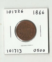 1866 TWO CENTS -  101726