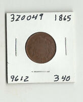1865 TWO CENTS -  320049