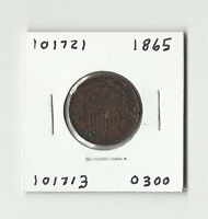 1865 TWO CENTS -  101721