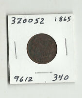 1865 TWO CENTS -  320052