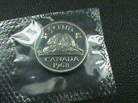 CANADA  5 CENTS 1968   1969   1970  OR  1971  MINT SET   CHOOSE ONE YEAR