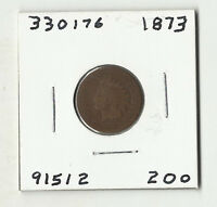 1873 INDIAN HEAD CENT  330176