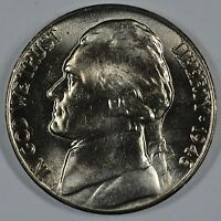 1946 D JEFFERSON UNCIRCULATED NICKEL BU   SEE STORE FOR DISCOUNTS GR04