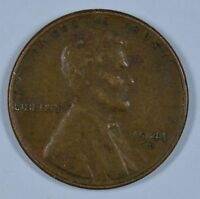 1941 D LINCOLN WHEAT CIRCULATED PENNY  SEE STORE FOR DISCOUNTS  RD35