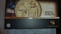 2014 D NATIVE AMERICAN $1 COIN AND CURRENCY SET ENHANCED SACAGAWEA 50,000 MINTED