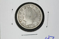 1902 LIBERTY HEAD NICKEL - USA
