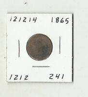 1865 INDIAN HEAD CENT    121214