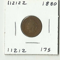 1880 INDIAN HEAD CENT    112122