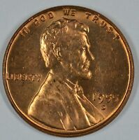 1955 D LINCOLN WHEAT UNCIRCULATED PENNY  SEE STORE FOR DISCOUNTS GR45