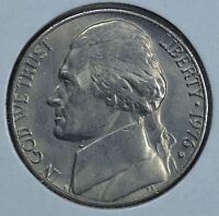 1976 D JEFFERSON CIRCULATED NICKEL  SEE STORE FOR DISCOUNTS