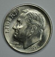 1957 D ROOSEVELT SILVER UNCIRCULATED DIME BU SEE STORE FOR DISCOUNTS GR04