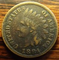 1884 INDIAN HEAD CENT/