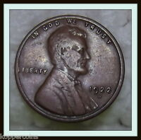 1922   D LINCOLN WHEAT CENT VF