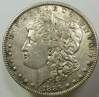 1885-P VAM DDR DOUBLE REVERSE SILVER MORGAN DOLLAR COIN $1 US ITEM 6519