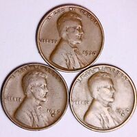 1930  1930-D  1930-S  LINCOLN WHEAT CENTS LOWEST PRICES ON THE BAY FREE S/H