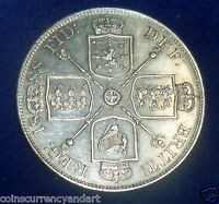 1888 UK  GREAT BRITAIN   SILVER COIN  DOUBLE FLORIN