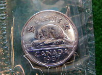1987 CANADA 5 CENT COIN