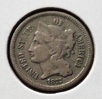 1872 3CN THREE CENT NICKEL