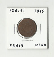 1865 TWO CENTS -  928151