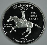 1999 S DELAWARE STATE SILVER PROOF QUARTER     SEE STORE FOR DISCOUNTS GR23