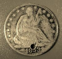 1853 O SEATED LIBERTY SILVER HALF DOLLAR ARROWS AND RAYS