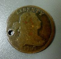 1797 DRAPED BUST LARGE CENT SHIPS FREE