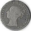 UK 1846 VICTORIAN YOUNG HEAD SILVER GROAT   166 BK4