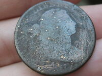 1801 DRAPED BUST LARGE CENT PENNY   OLD COIN