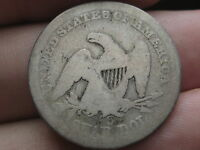 1859 S SEATED LIBERTY QUARTER   KEY DATE