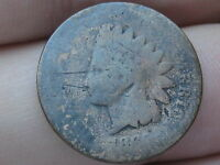 1865 INDIAN HEAD CENT PENNY- BRONZE