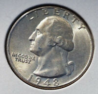 1948 25C WASHINGTON QUARTER