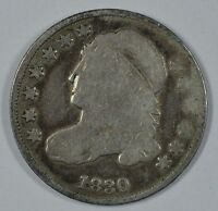 1830 CAPPED BUST SILVER DIME   SEE STORE FOR DISCOUNTS GR45