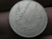 1887 LIBERTY HEAD V NICKEL  LOW MINTAGE DATE