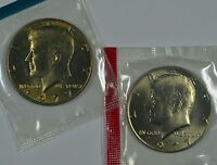 1977 P & D KENNEDY HALF DOLLARS IN MINT CELLO SEE STORE FOR DISCOUNTS