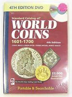 STANDARD CATALOG OF WORLD COINS 1601 1700 4TH EDITION DVD