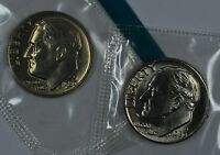 1980 P & D ROOSEVELT DIMES IN MINT CELLO SEE STORE FOR DISCOUNTS