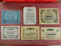 HIGH QUALITY COPIES WITH W/M RUSSIA BANKNOTES 1818 1843 YEARS.