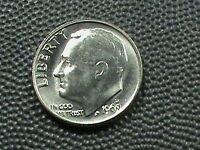 UNITED STATES     10 CENTS   1969     D     BRILLIANT  UNCIRCULATED