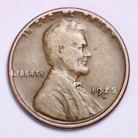 1925-D LINCOLN WHEAT CENT PENNY LOWEST PRICES ON THE BAY  SHIPS FREE